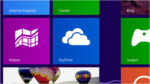 Iconos Windows 8